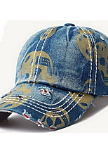 Cap Baseball Cap Cap Outdoor Sports Leisure Boom Breathable / Comfortable  BaseballSports Denim