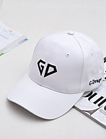 GD embroidery curved eaves baseball cap Outdoor leisure men's hat Ms. Sun hat Breathable / Comfortable Unisex BaseballSports