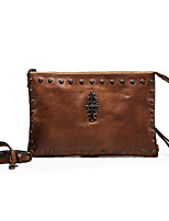 Women Cowhide Casual / Event/Party / Wedding / Office & Career Wristlet