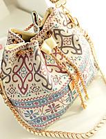 Women Cotton Outdoor Bucket bags