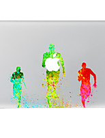 Running Decorative Skin Sticker for MacBook Air/Pro/Pro with Retina