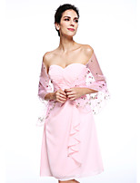 Women's Wrap Shawls Organza Wedding Party/Evening