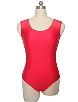 Ballet Leotards Women's / Children's Training Nylon / Lycra 1 Piece Sleeveless Leotard