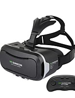 Hot ! Google Cardboard VR SHINECON II 2.0 Latest Upgraded Version Virtual Reality 3D Glasses with Bluetooth Remote Control Gamepad
