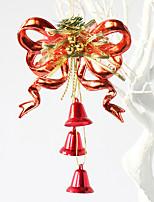 1pcs couleur aléatoire décoration cadeaux de Noël rôle ofing noël ornements d'arbre cadeau de Noël pendre actthe rôle de cloche