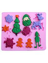 1 Silikon pečicí formy pro Cake / pro Cookie / pro Cupcake / pro Pie / pro Pizza / Other / pro Ice / pro Chocolate / pro chlébVysoká