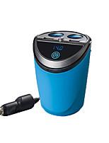 agetunr 12-24v выход 3.1а Dual USB Автомобильное зарядное устройство адаптер с подстаканник напряжения тока дисплей автомобильное зарядное