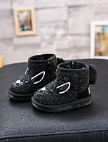 Boy's Boots Others Fabric Casual Black Gray