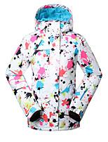 GSOU NEIGE® Tenue de Ski Anorak pour Ski/snowboard Femme Tenue d'Hiver Polyester Vêtement d'HiverEtanche / Respirable / Garder au chaud /