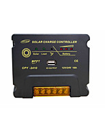 MPPT 12/24V 10A USB Temperature Compensation Battery Auto Regulator Solar Charge Controller with Complete Protections