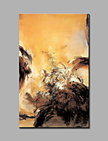 Handgemalte Abstrakt / Fantasie Ölgemälde,Modern / Europäischer Stil Ein Panel Leinwand Hang-Ölgemälde For Haus Dekoration