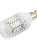 4W E14 Ampoules Maïs LED T 27 SMD 5730 280 lm Blanc Chaud / Blanc Froid Décorative DC 12 V 1 pièce