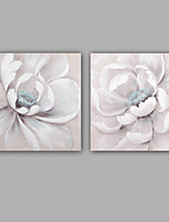 Hand-Painted Abstract / Floral/Botanical 100% Hang-Painted Oil PaintingModern / Classic One Panel Canvas Oil Painting For Home Decoration