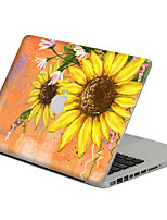 1 pc Scratch Proof PVC Body Sticker Sun Flower Pattern For MacBook Pro 15'' with Retina / MacBook Pro 15'' / MacBook Pro 13'' with Retina / MacBook