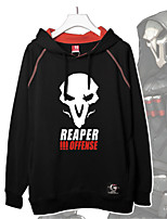Cosplay Suits Inspired by Reaper Overwatch Cosplay Accessories Shirt  Cotton Unisex