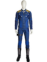 Men's Costume  Captain  Cosplay Costume  Halloween Cosplay Costume for Men Clothing coat Pants Gloves Party