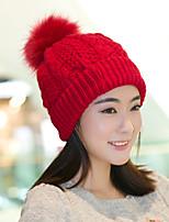 Для женщин Для вечеринки Широкополая шляпа,Весна осень Зима Шерсть