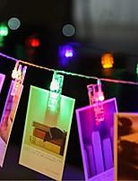 20 dirigé par prise étanche en plein air vacances décoration de Noël lumière 2m led string