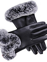 gants de dames tactiles (noir)