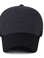 Outdoor thermal thickening protective ear cap Fashionable man warm baseball cap Cloth cotton padded cap Breathable / Comfortable