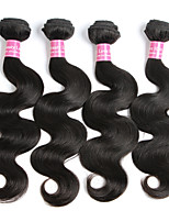 4 bundles Brazilian Virgin Remy Hair Body Wave Human Hair Weave Extensions 400gs