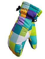 lyžařské rukavice Celý prst Dámské / Pánské Akvitita a sport Odolný vůči sněhu Rukavice Snowboard Polyester