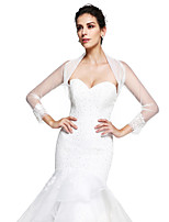 Women's Wrap Shrugs Tulle Wedding / Party/Evening Appliques