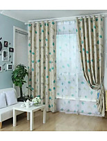 One Panel Curtain Country , Animal Bedroom Polyester Material Blackout Curtains Drapes Home Decoration For Window