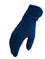 лыжные перчатки Полный палец Жен. / Муж. Спортивные перчатки Снегозащитный  Перчатки Сноубординг Полиэстер Зима