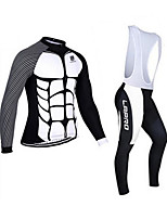 Sports Bike Cycling Clothing Sets Suits Men's Long SleeveBreathable  Ultraviolet Resistant  Quick Dry