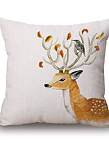 1 pcs Pillow CaseFloral / Novelty Euro / Modern/ Contemporary