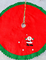 Non-woven Christmas Tree Skirt The Christmas Tree Apron 90Cm