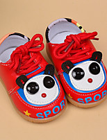 Boy's Flats Spring / Fall Others / Comfort / First Walkers PU Outdoor / Casual Flat Heel Others / Magic Tape Black / Yellow / Red Others