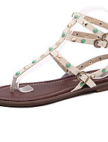 Women's Sandals Summer Others PU Casual Black / Almond