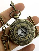 שעון קיבל השראה מ מתנקש Conner אנימה / משחקי וידאו אביזרי קוספליי שרשרת / אביזרים נוספים מוזהב / כסף מתכת יוניסקס