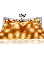 Women Bags All Seasons Polyester Evening Bag with Sequined for Wedding Event/Party Formal Gold Black Silver