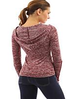 aliexpress eaby explosie modellen in Europa en Amerika de nieuwe dikke katoenen gehaakte kant mouwen met capuchon t-shirt spot
