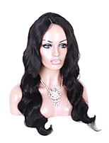 Full Lace Natural Loose Wave Wig Black Color Lace Wig with Baby Hair For Black Women