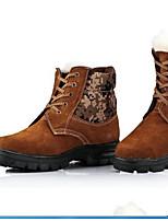 Кроссовки для ходьбы Муж. Противозаносный Износостойкий Ультралегкий (UL) На открытом воздухе Искусственная кожа ПолиуретанСпорт в