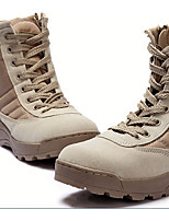 Sneakers Soccer Shoes Kid's Anti-Slip Wearproof Ultra Light (UL) Outdoor PVC Leather Rubber Leisure Sports
