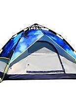 LYTOP/飞拓 3-4 Pessoas Tenda Duplo Tenda Automática Um Quarto Barraca de acampamento Fibra de Vidro OxfordProva de Água Respirabilidade