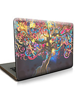 pour macbook air 11 13 / pro13 15 / pro avec retina13 15 / macbook12 arbres en rotin de cas apple portable