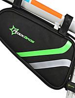 ROCKBROS Bike BagBike Frame Bag Waterproof Waterproof Zipper Breathable Phone/Iphone Shockproof Wearable Touch Screen Bicycle Bag Nylon