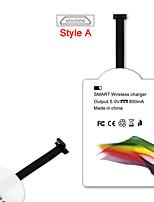 mindzo気標準5V1Aスタイル - すべてのアンドロイドのマイクロUSBスタイル-スマートフォン用ワイヤレス充電レシーバー
