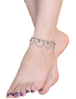 femmes disent alliage anklet bijoux 1pc