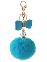 Key Chain Sphere Key Chain Blue Metal / Plush