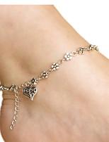 alliage bijoux de cheville de 1pc des femmes