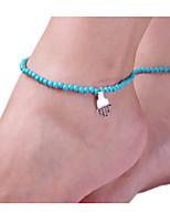 Women'S  AlloyPearlAnklet Jewelry 1pc