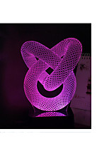 Light source power: 3w Autre Touch dimming, 3D stereoscopic lamp, color night light