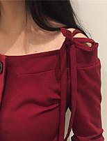 * Ondertekenen nieuwe winter slank dunne das riem vest overhemd grote knoppen nett